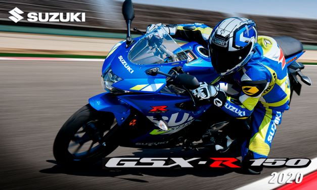 Si eres fanático de la adrenalina, entonces la Suzuki GSX-R150 2020 es para ti