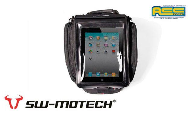 Asegura tu tablet con la funda Drybag de ACC PARTS (SW-MOTECH MÉXICO)