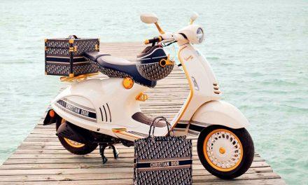 Vespa se viste de Christian Dior