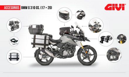 Accesorios DESA equipa tu moto de pies a cabeza con Givi