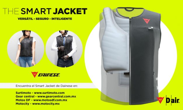Versátil, seguro e inteligente, Dainese Smart Jacket