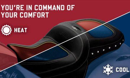 Viaja más cómodo con el asiento ClimaCommand Classic de INDIAN