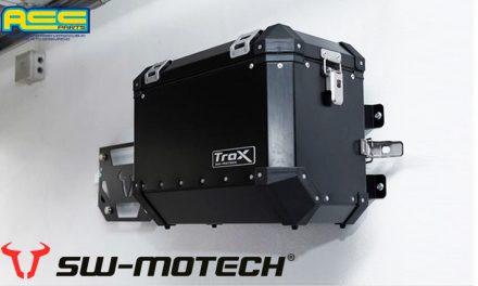 El soporte de pared perfecto para maletas es de Trax-ACC PARTS (SW-MOTECH México)