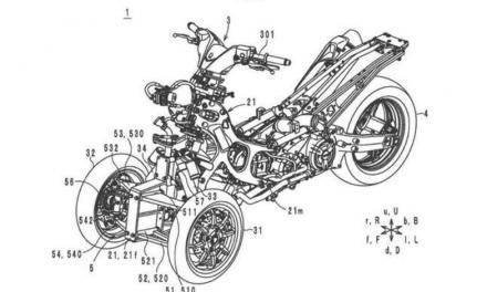 Tres ruedas para el T-Max de Yamaha