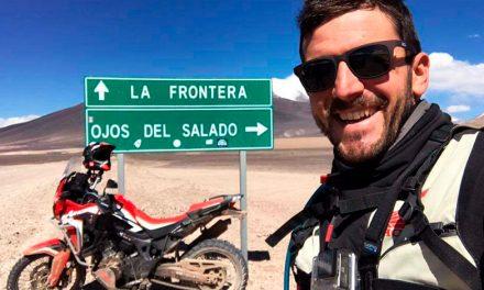 Fabio Mossini, conquistador del Nevado Ojos del Salado