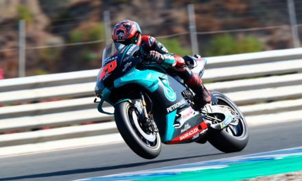 Fabio Quartaro, ganador de la primera carrera del MotoGP