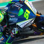 Eric Granado vencedor de la primera carrera de motos eléctricas en Jerez
