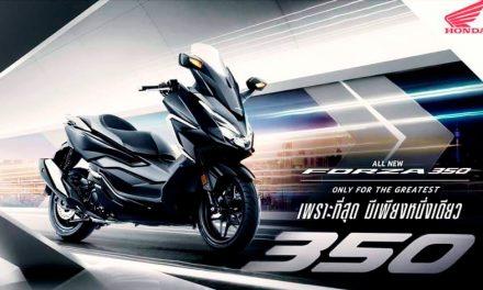 Honda Forza 350 2021, desde Tailandia