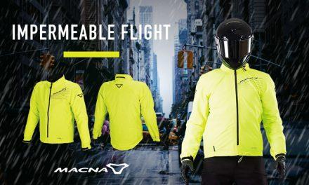 Empezó la temporada de lluvia, cúbrete con el Impermeable Macna Flight