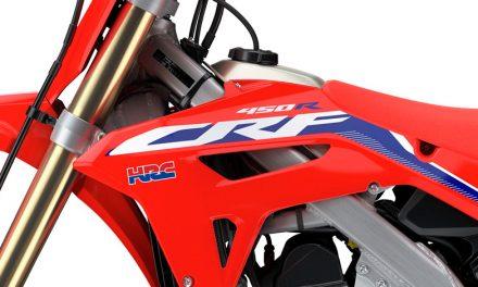 Honda se renueva con sus modelos CRF450R de Motocross y CRF450RX de Enduro