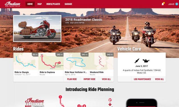 El Ride Command de INDIAN se reinventa para darte una mejor experiencia