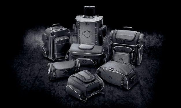 A rodar con las nuevas maletas de Harley Davidson