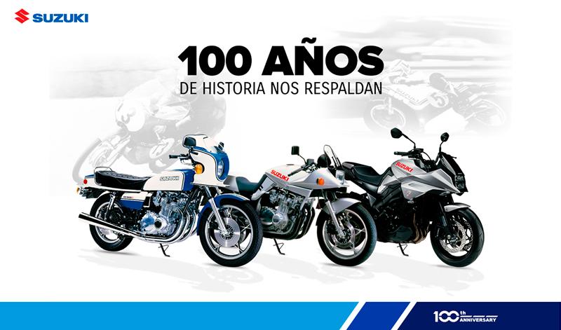 ¡Suzuki cumple 100 años!