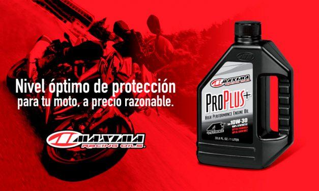 Lubricante Maxima Pro Plus+, nivel óptimo de protección para tu moto