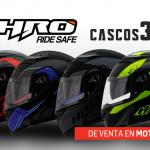 Ya llegaron a Motocity los nuevos modelos HRO abatibles