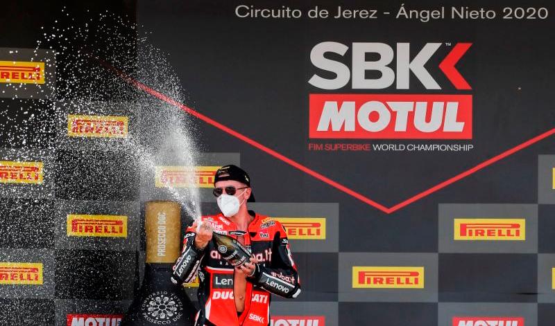 Scott Redding, ganador en el regreso del Campeonato Mundial de Superbikes