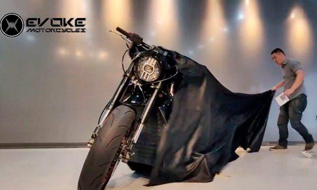 Evoke 6061, la moto eléctrica que se carga en 15 minutos