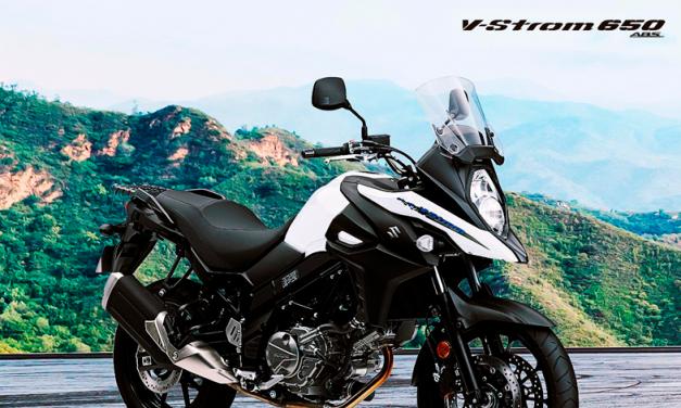 Disfruta al máximo la aventura con la Suzuki V-Strom 650 ABS