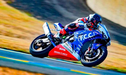 El equipo Honda, ganador de las 24 horas de Le Mans 2020