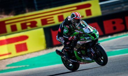 Jonathan Rea, en lo más alto del podio en el Campeonato Mundial de Superbike