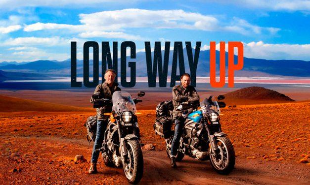 Comienza la aventura Long Way Up