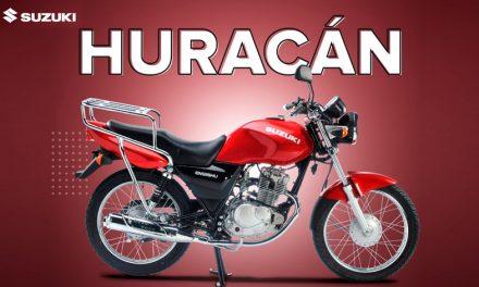 Suzuki Huracán, la mejor motocicleta de trabajo