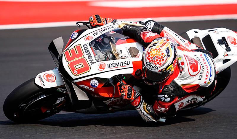 Alex Márquez realiza brillante carrera en el MotoGP de Misano