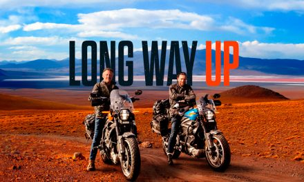 Comienza la aventura Long Way Up
