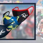 Cubrebocas con estilo MotoGP