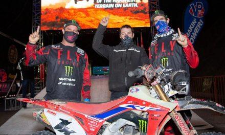 SLR de Honda continúa con su racha de victorias en Baja 1000