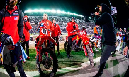 Honda HRC anuncia a sus pilotos para el AMA Supercross/AMA Pro Motocross 2021
