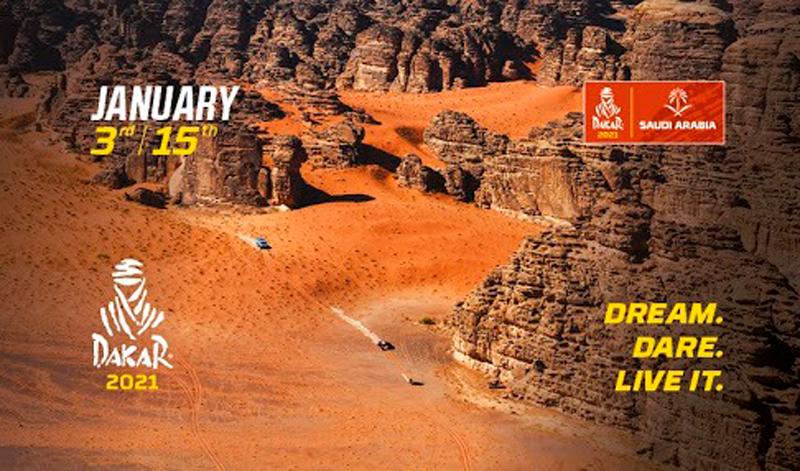 Dakar 2021, edición 43 de la famosa competencia sobre tierra