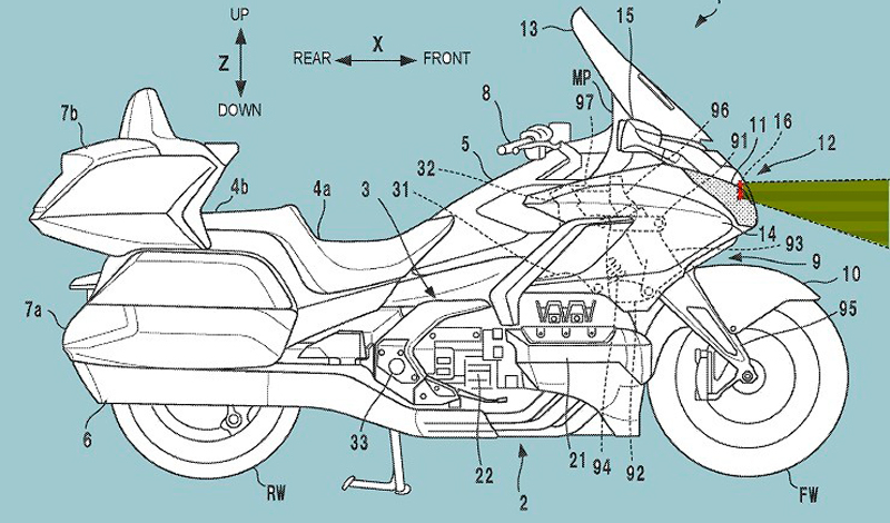 Honda Gold Wing 2022