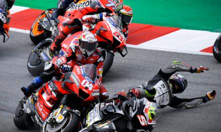 Las caídas de MotoGP 2021