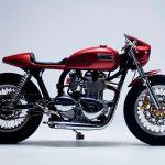 La Gullwing X, una atractiva moto estilo Café Racer