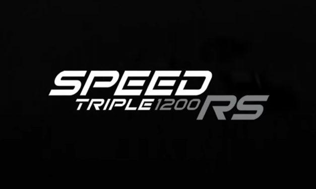 Confirmado, Triumph pronto presentará la nueva Speed Triple 1200 RS