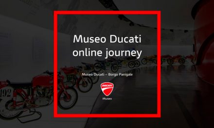 """El proceso de digitalización Ducati continúa con el """"Online Journey"""" un recorrido virtual del Museo Ducati"""