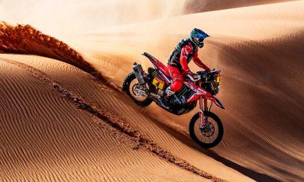Ignacio Cornejo el líder de la etapa 8 del Dakar 2021