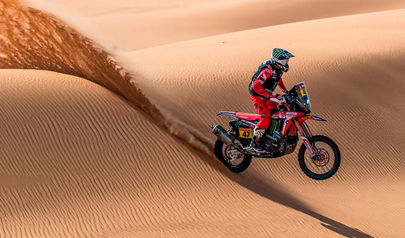 Honda obtiene la victoria en el Rally Dakar en la categoría de motocicletas, por segundo año consecutivo