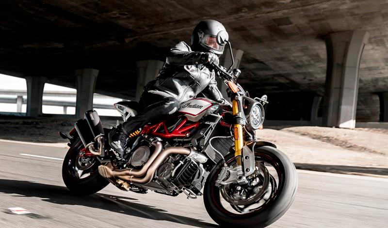 Indian Motorcycle ofrece lo último en Street Tracker