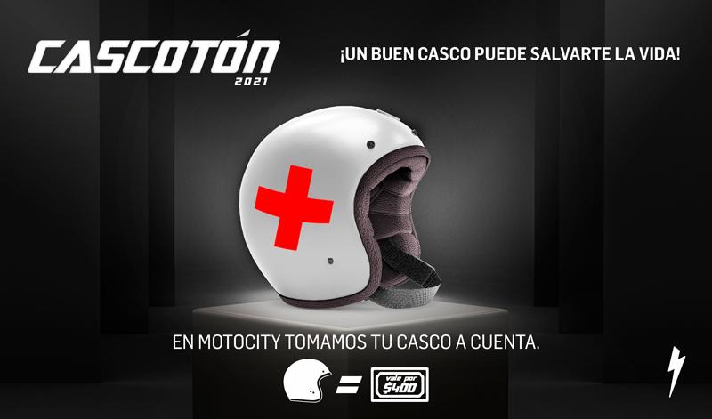 Motocity te cambia de casco
