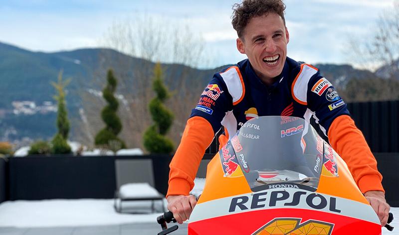 Honda sorprendió a Pol Espargaró con su nueva moto