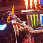 Cooper Webb,  se lleva el triunfo en Houston del Campeonato Ama SX