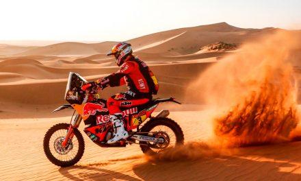 Joan Barreda, se coloca ganador de la etapa 2 del Dakar