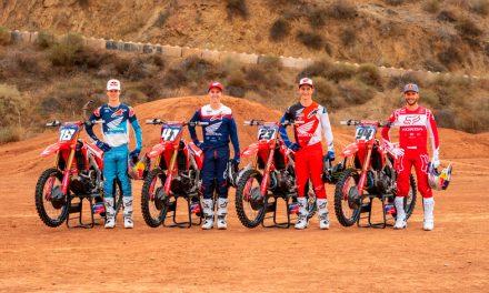Honda presenta al equipo de fábrica para el AMA Supercross