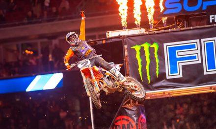 Cooper Webb,  se lleva el triunfo en Houston en el Campeonato Ama SX