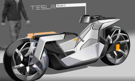 ¡De impacto!, la moto futurista de Tesla