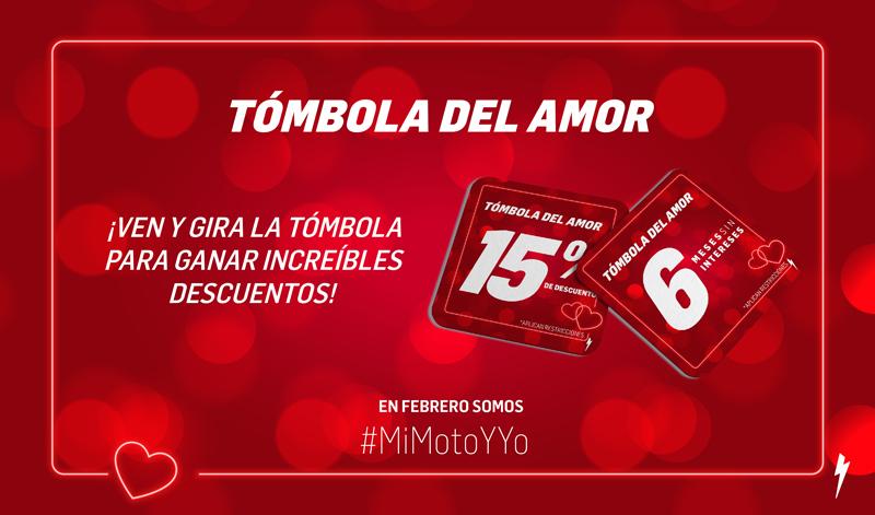 ¡Ya sabes que en Motocity festejan el amor todo el mes!