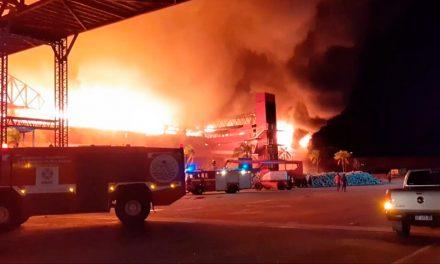 Se incendia  Termas de Río Hondo