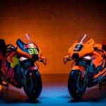 Presentados los dos equipos KTM que competirán en el mundial de MotoGP